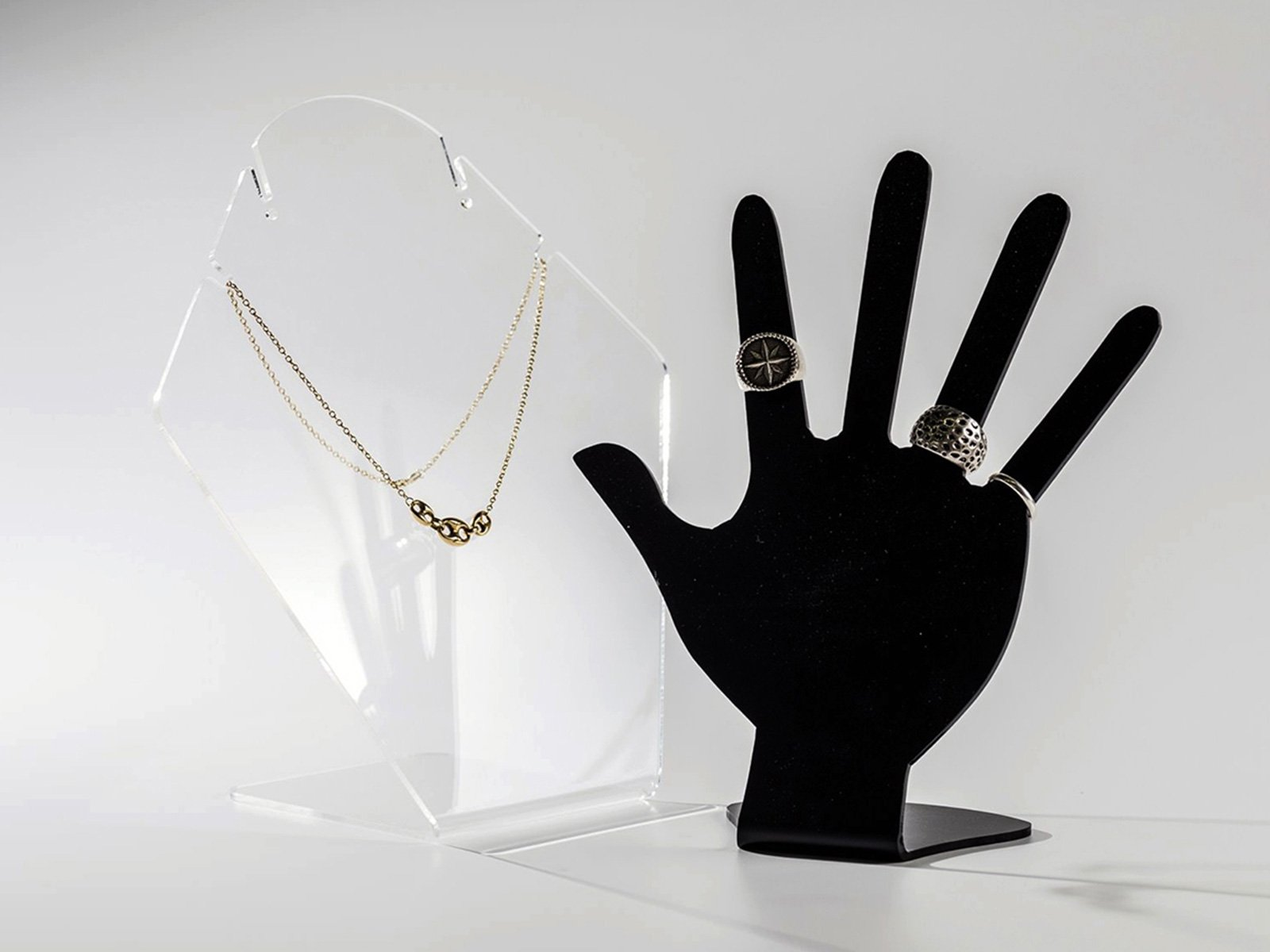 oggetti in plexiglass
