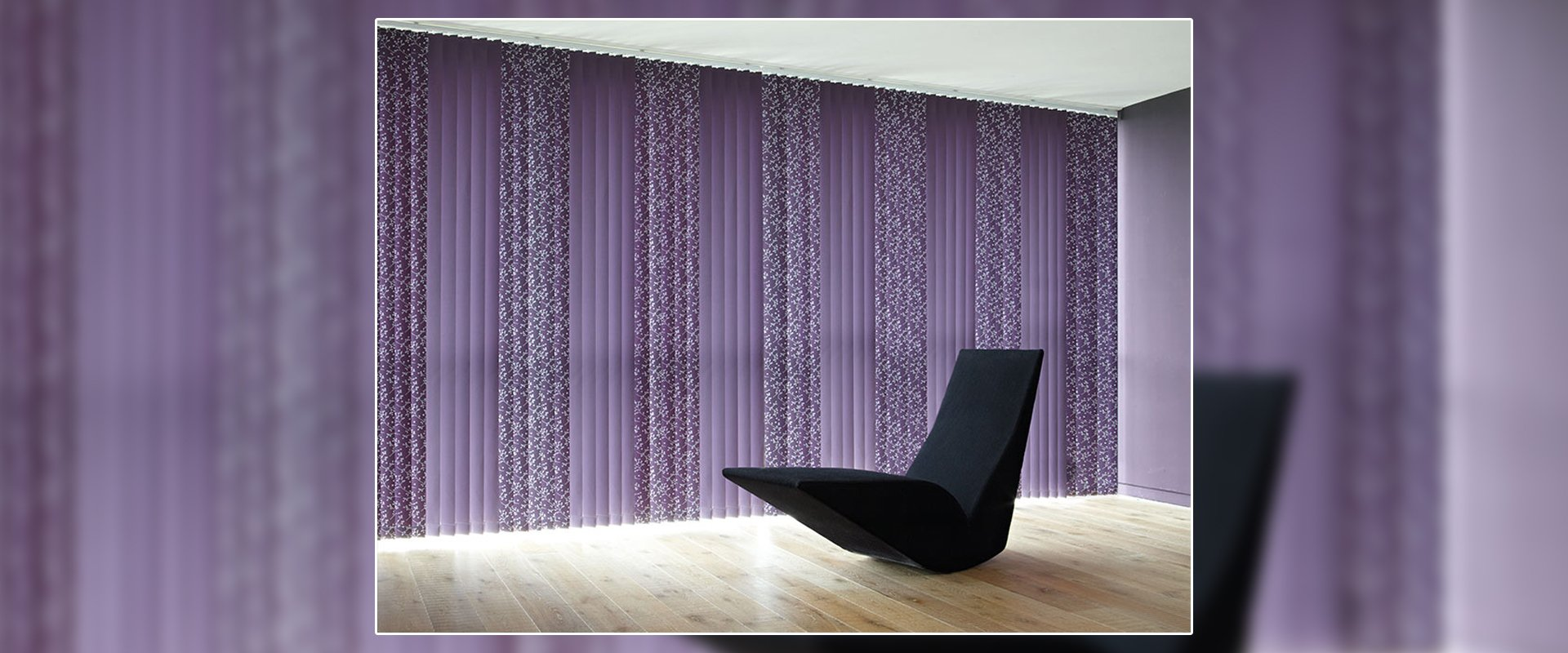 Purple colour blinds