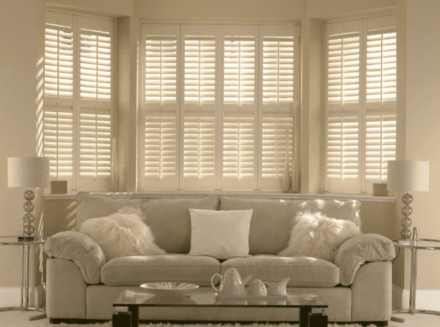 Blinds in a home