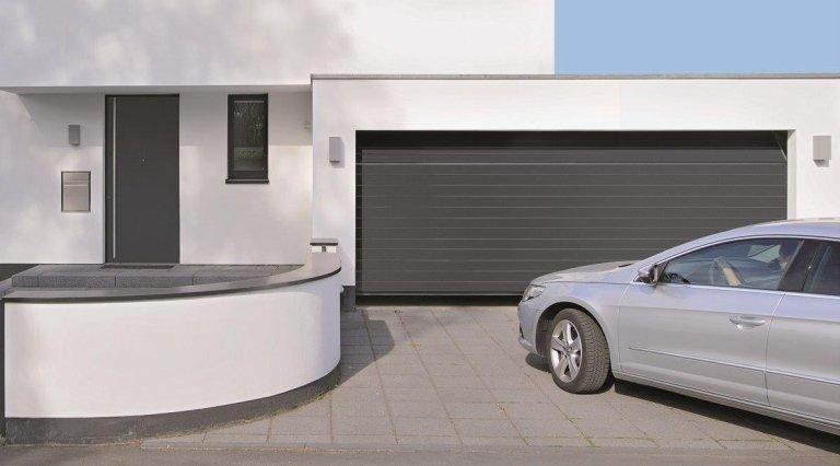 garage grigio