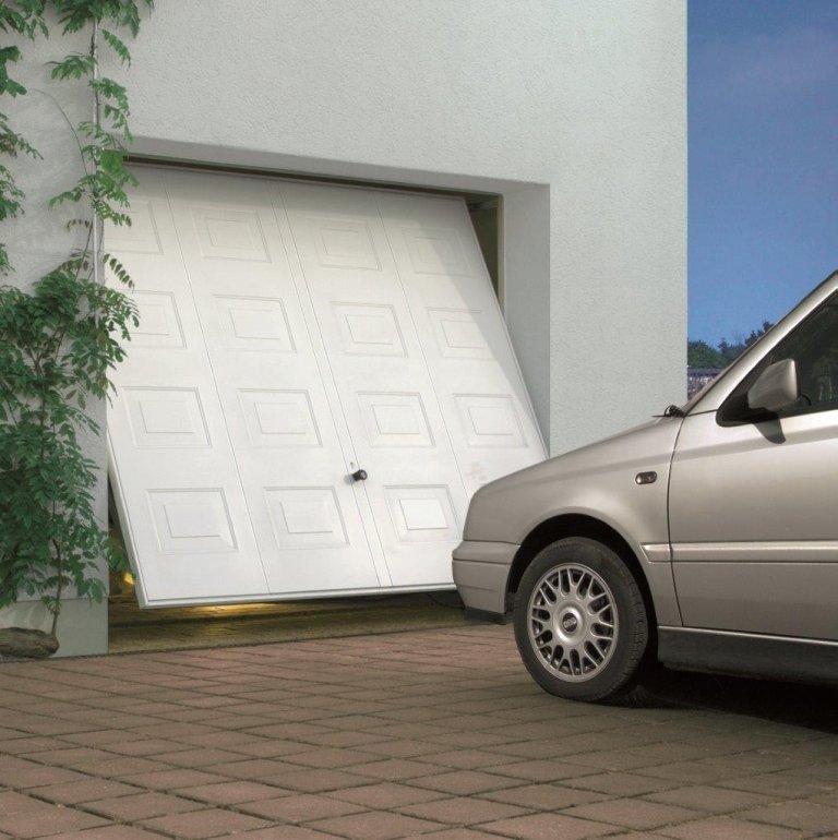 garage con apertura manuale