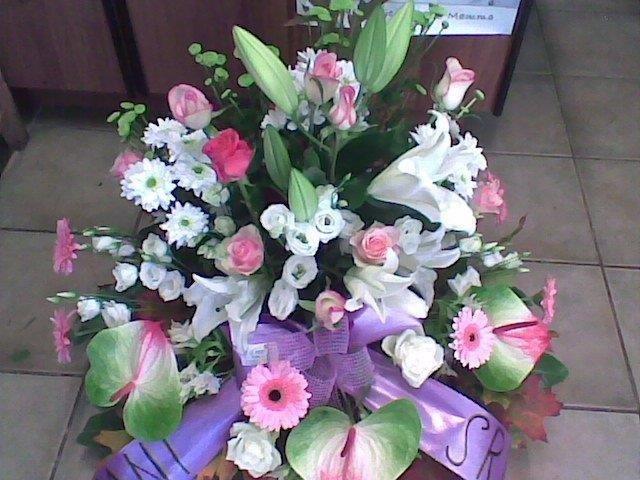 composizione di fiori freschi