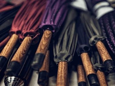 handcrafted umbrellas