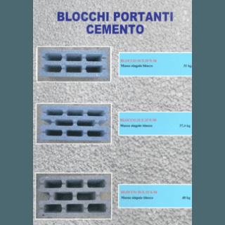 blocchi portanti in cemento