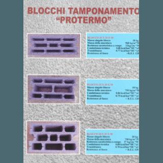 blocchi di tamponamento protermo