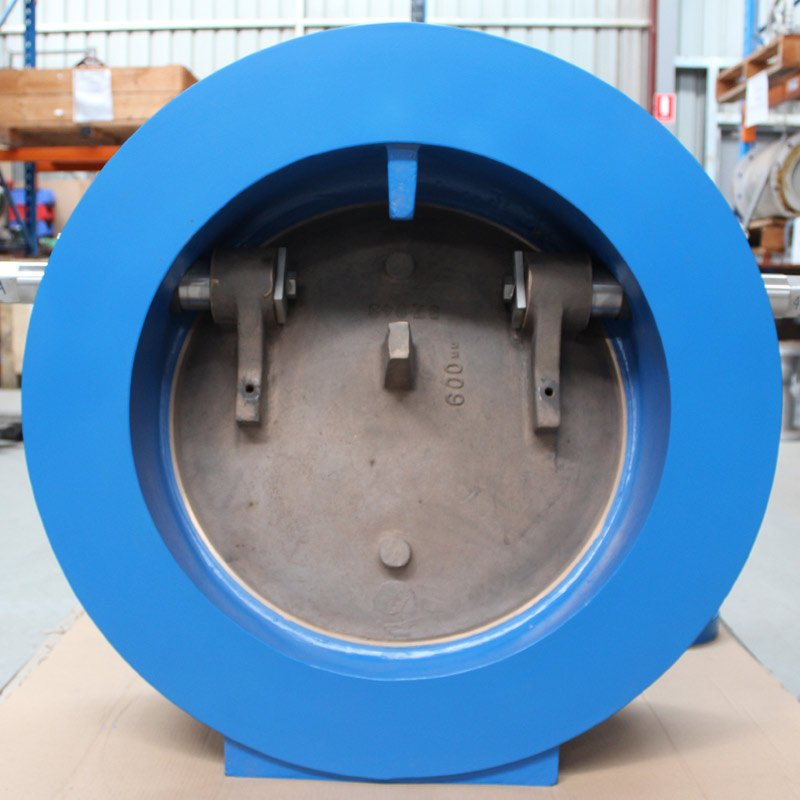inside of blue valve