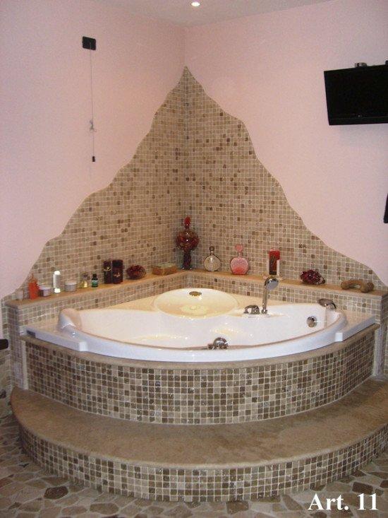 vasca tonda in marmo