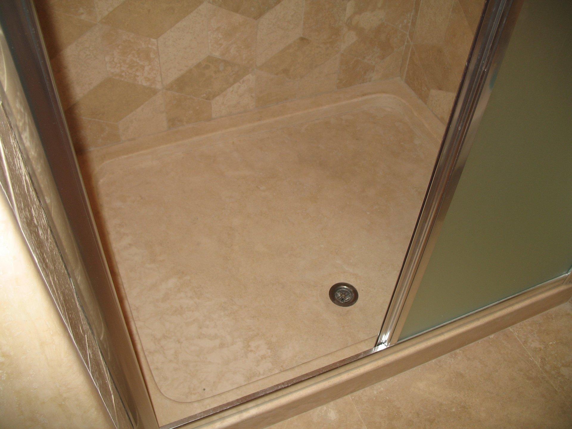 Piatto doccia in marmo
