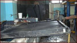costruzione radiatori per motori industriali