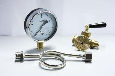 Indicatore di pressione e tubo