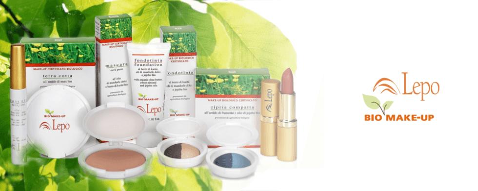 Cosmetici naturali linea Lepo line