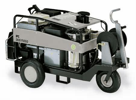 idropulitrice acqua calda autonoma