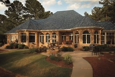 Home with Camelot Lifetime Designer Shingles, installed by King Quality Construction