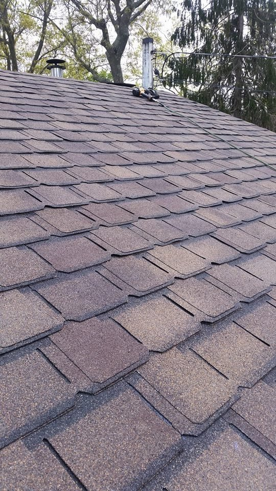 roof installed by King Quality Construction