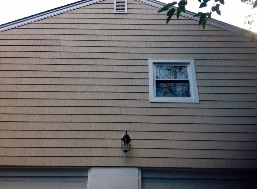 exterior of home with siding installed by King Quality Construction