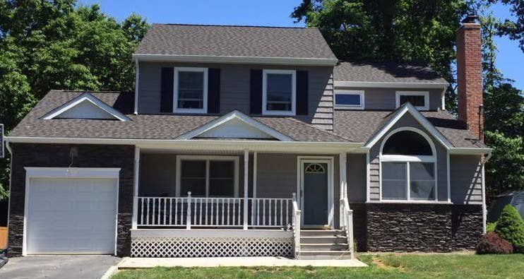 Completed roofing & siding project - King Quality Construction - Long Island NY