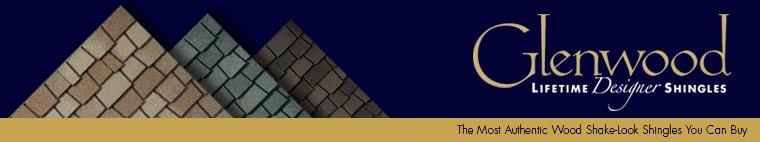 Glenwood Lifetime Designer Shingles, installed by King Quality Construction