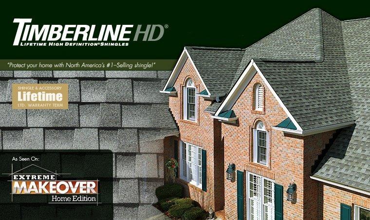 King Quality Construction installs Timberline HD Lifetime Shingles