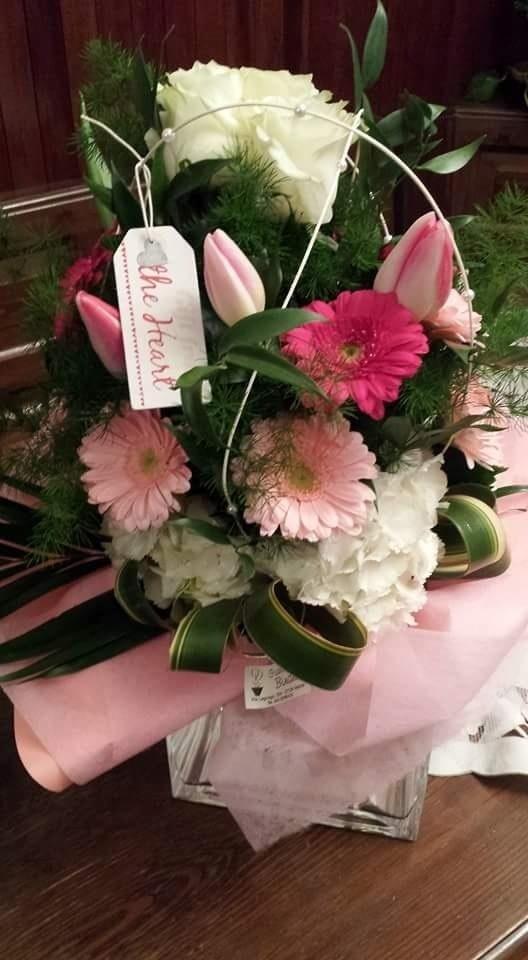 composizione fiori per compleanni