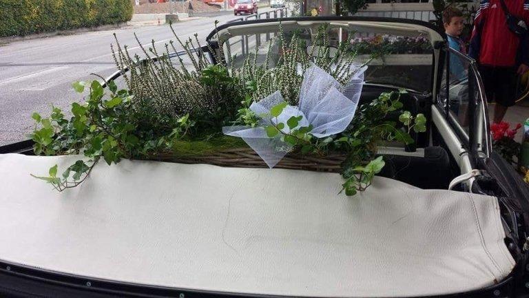 composizione fiori per matrimonio