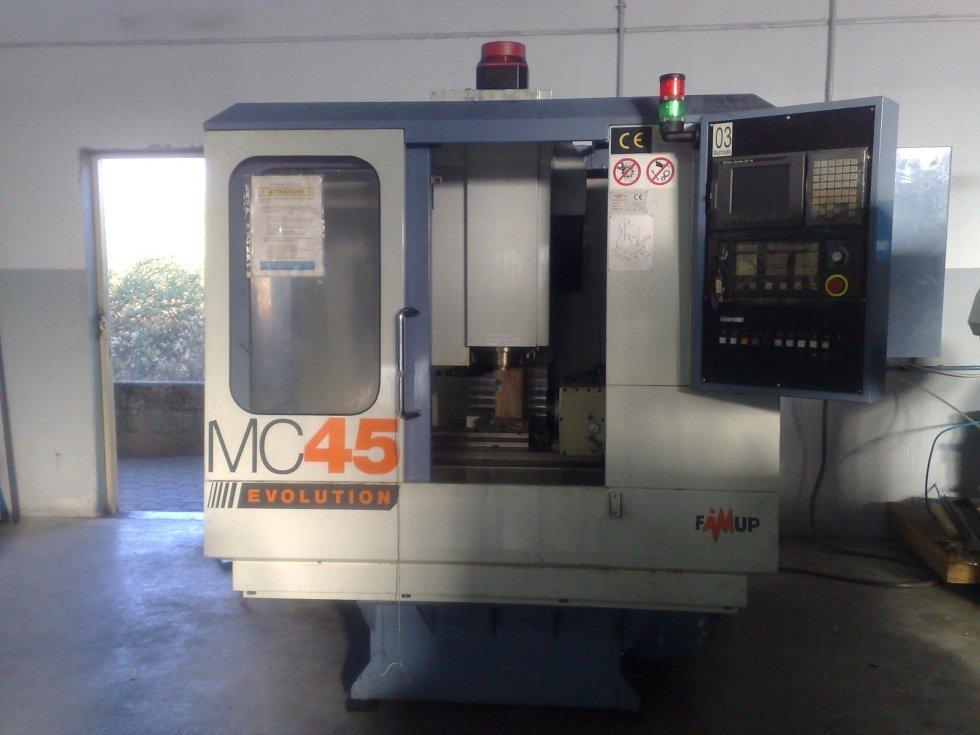 MECS fresatura fresa a 4 ssi Famup MC45