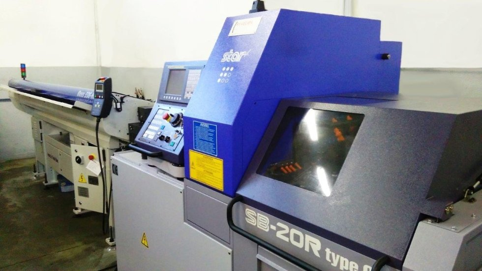 MECS turning lathe STAR SB-20R G