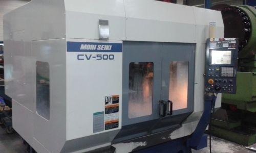 MECS fresa rotopallet MoriSeiki CV-500