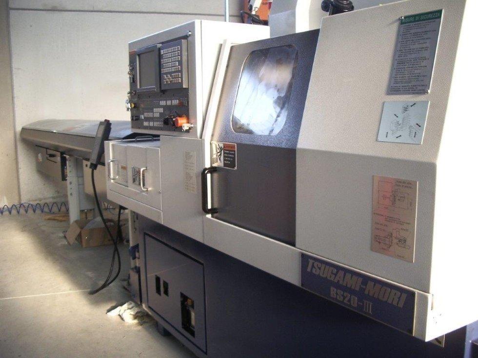 MECS tornitura tornio Tsugami-Mori BS20-III