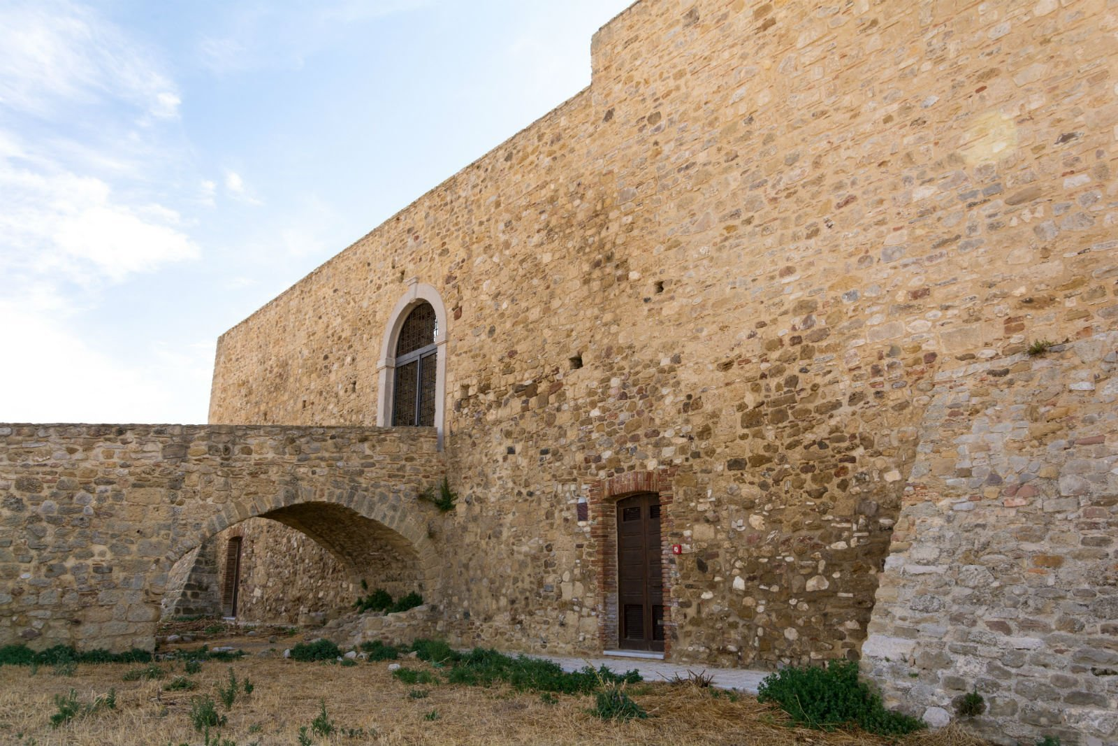 mura di una fortezza