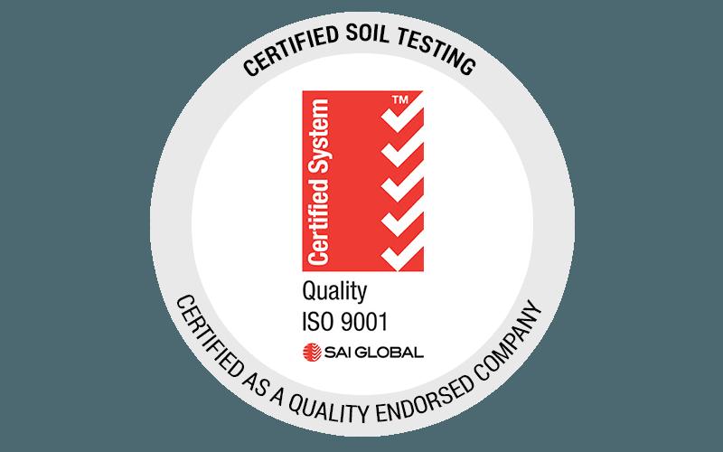 Certified Soil Testing