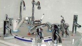 rubinetti di diverse forme