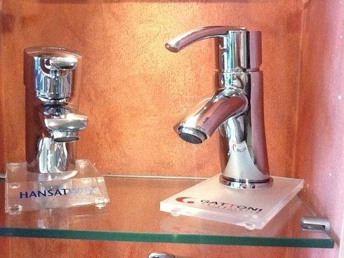 rubinetto Hansa e rubinetto Gattoni