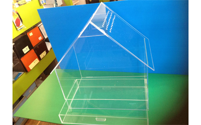 Casetta plexiglass