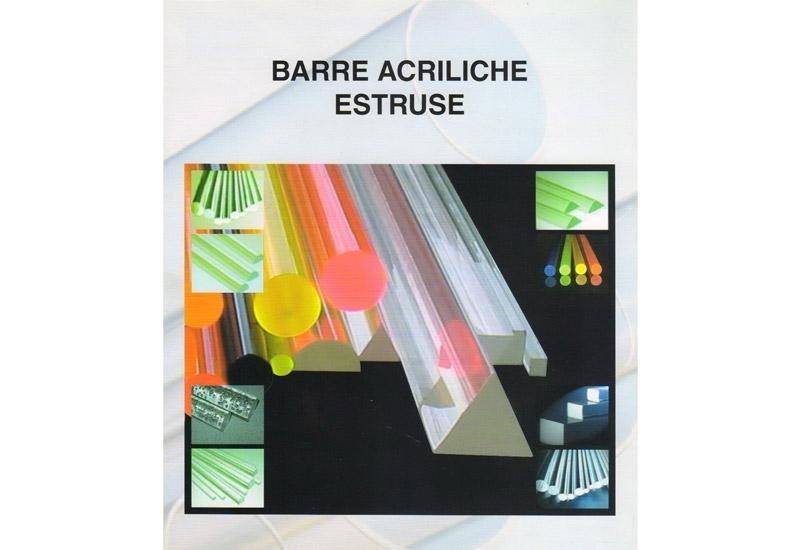 Barre acriliche estruse
