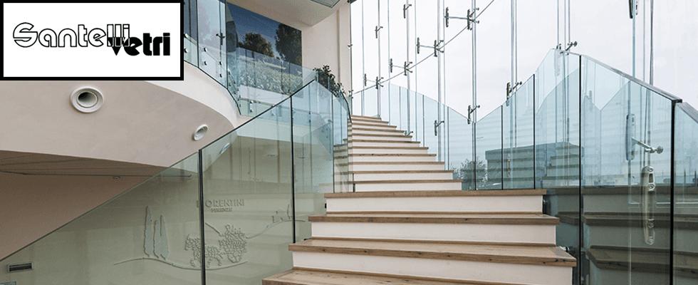 santelli vetro ufficio moderno vetro
