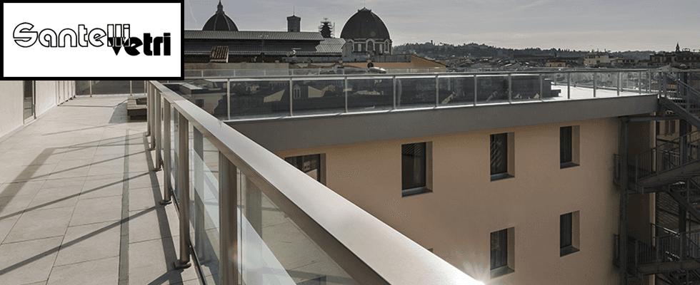 santelli vetro terrazza hotel