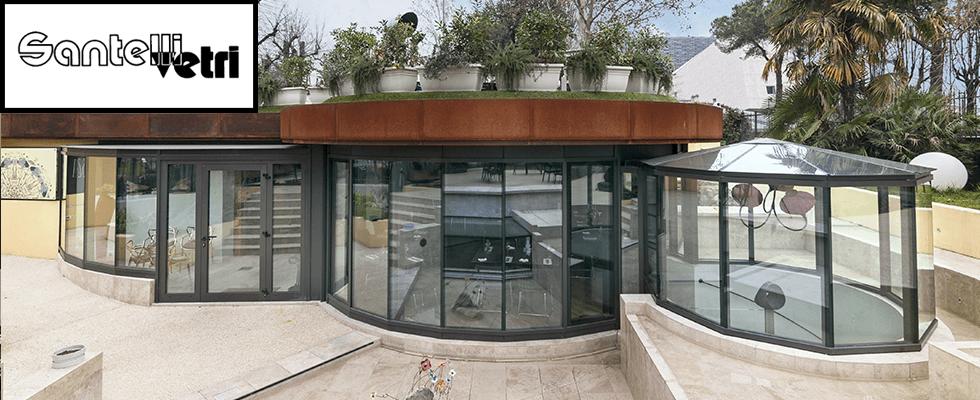 santelli vetro gazebo e villa in vetro