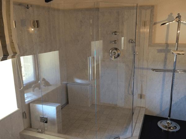bagno doccia vetro