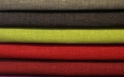 Tessuti colorati arredamento