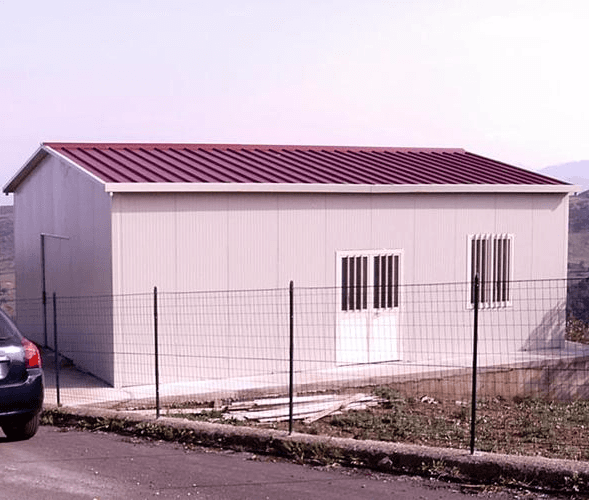 Prefabricated house structures