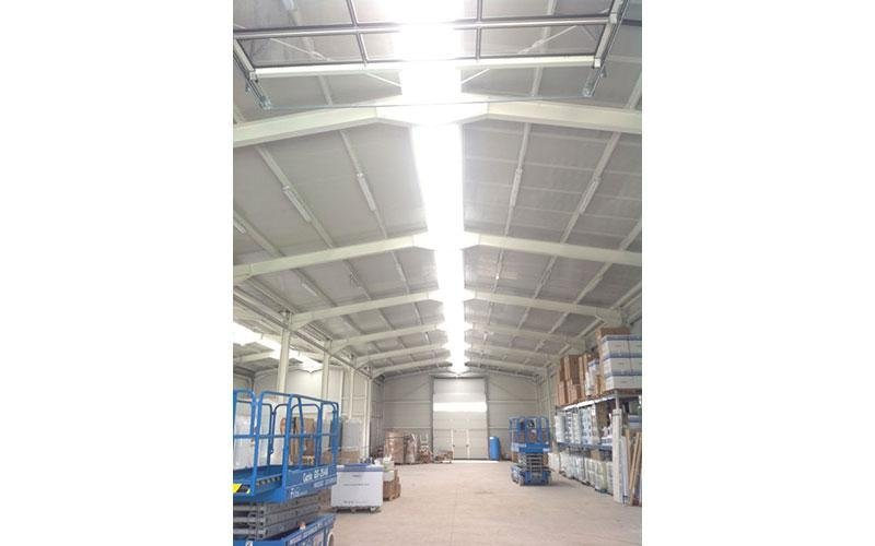 Industrial prefabricated unit