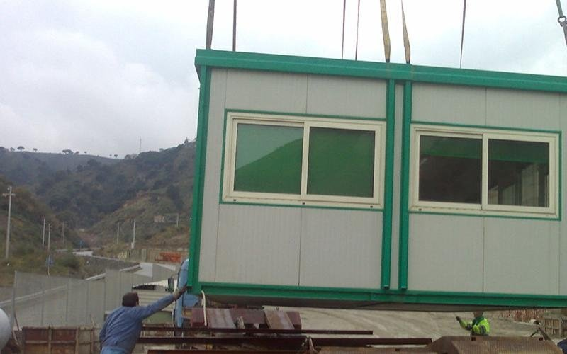 Prefabricated structures and boxes