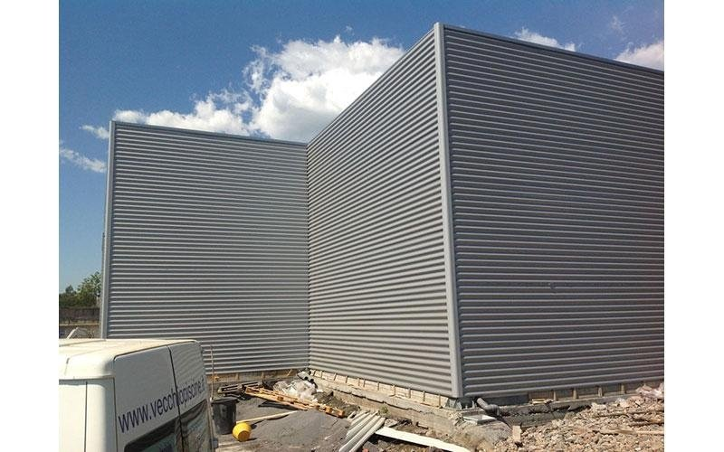 Industrial prefabricated unit construction