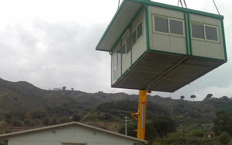 Prefabricated box installation
