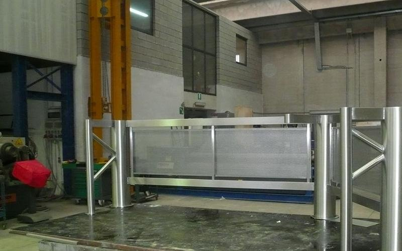 Stainless steel construction works