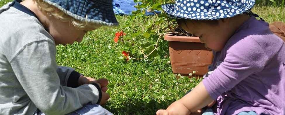 attività manuali in giardino