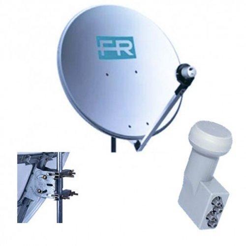 antenna satellitare con accessori