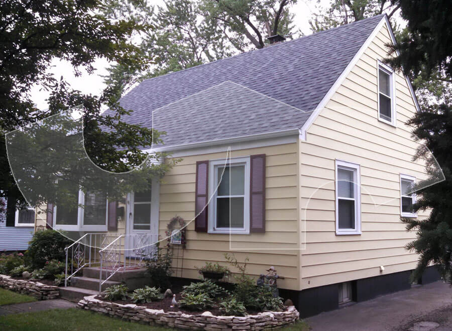 Elmhurst Charcoal Grey Roofing
