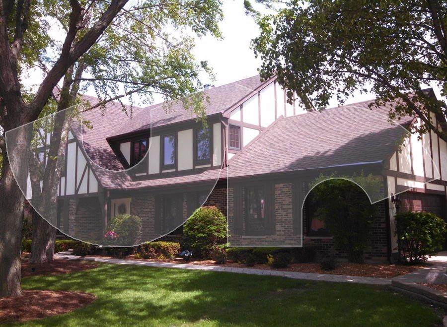 Hoffman Estates Dual Brown Roofing