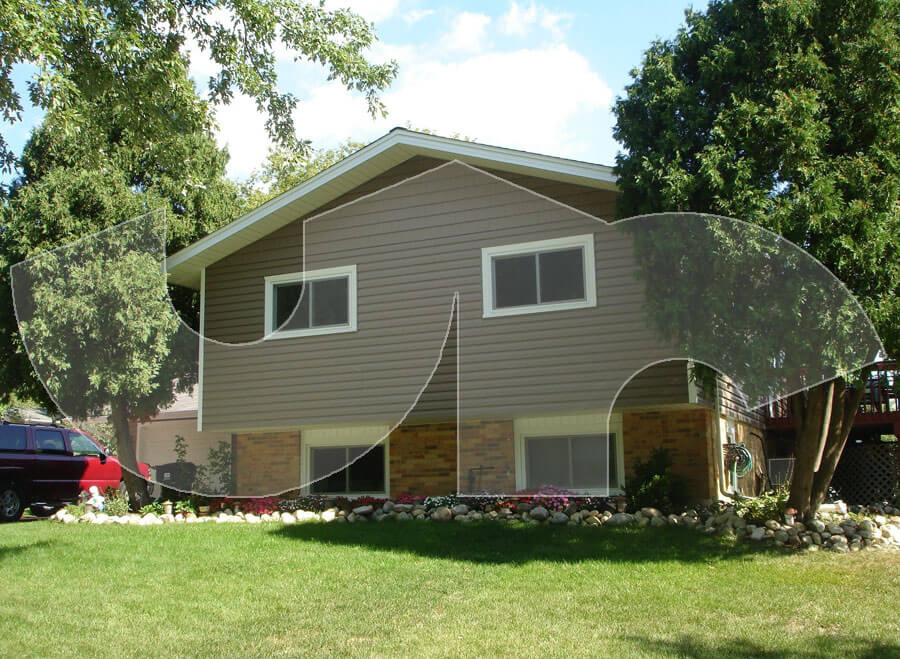 Hoffman Estates Russet Vinyl Siding-Windows-Doors